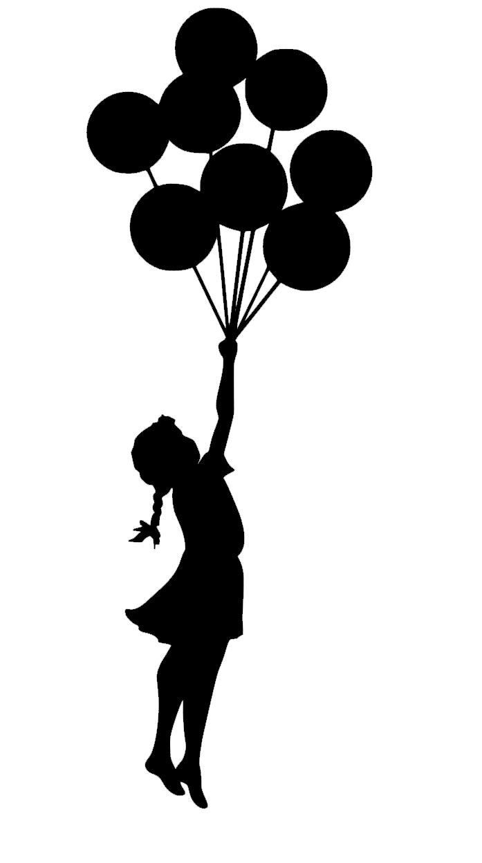 Dziewczynka Z Balonami