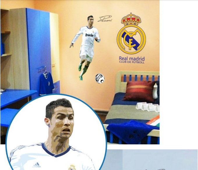Pilkarze Ronaldo Sport Sport Dekoracje Online Pl